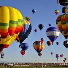 Полёт на воздушном шаре в группе